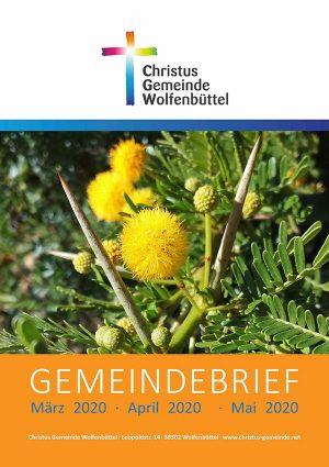 Cover des Gemeindebriefs